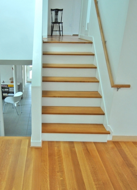 Oak Stair Treads Prefinished White Photo 22