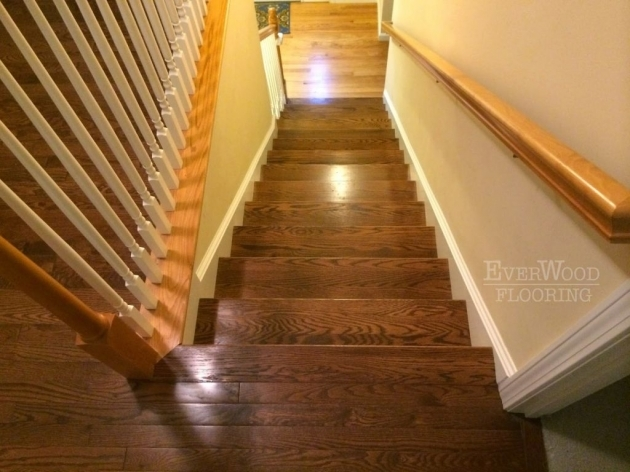 Oak Stair Treads With Return Home Design And Decorating Ideas Pic 28