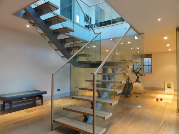 Oak Staircases With Glass Balustrade Latest Creations Photo 03