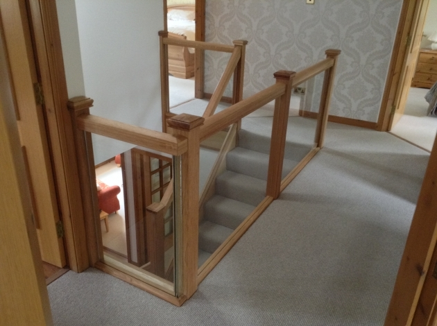 Oak Staircases With Glass Balustrade Replacement Images 68