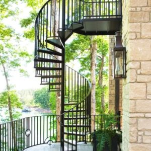 Outdoor Spiral Staircase Kits