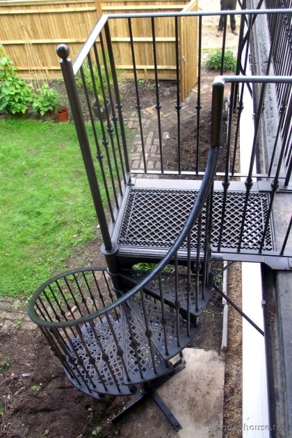 Outdoor Spiral Staircase Kits Home Design Diy Enclosures Pic 96