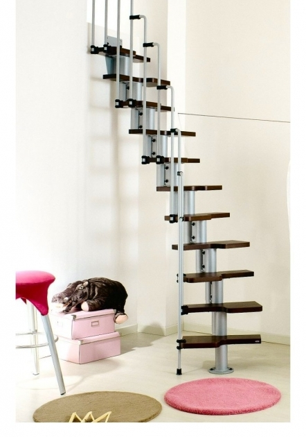 Small House Staircase Designs Faminine Ideas In Black And Pink With Wooden Steps And Stainless Steel Railings Picture 00