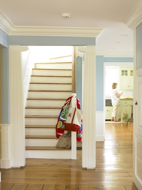 Small House Staircase Designs Wooden Floor With White Stair In Small Space And Decorating Home Interior Picture 81