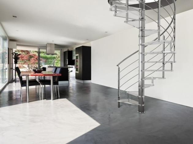 Smallest Spiral Staircase Dimensions Design Ideas Pic 01