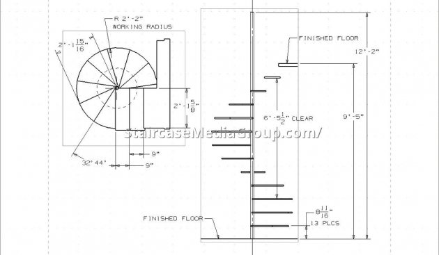 Spiral Staircase Measurements Design Pdf Best Staircase Ideas Pics 70