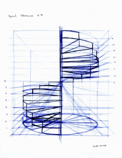 Spiral Staircase Measurements Home Ideas Picture 04