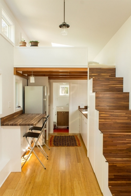Staircase Ideas For Tiny Houses Hikari Box Tiny House First Floor Pictures 47