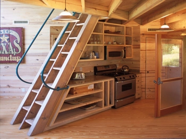 Staircase Ideas For Tiny Houses Ladder Humble Homes Pics 14