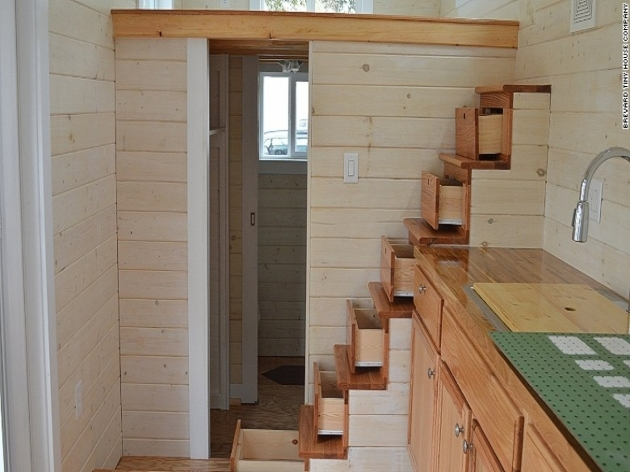 Staircase Ideas For Tiny Houses Off Grid Image 67