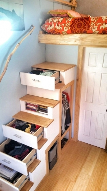 Staircase Ideas For Tiny Houses Storage Picture 43
