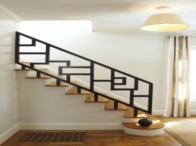 Staircase Railing Designs Copper Stair Railing Modern Ideas Picture 81