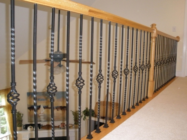 Staircase Railing Designs With Oak Carpentry And Home Stair Railing Design  Images 36