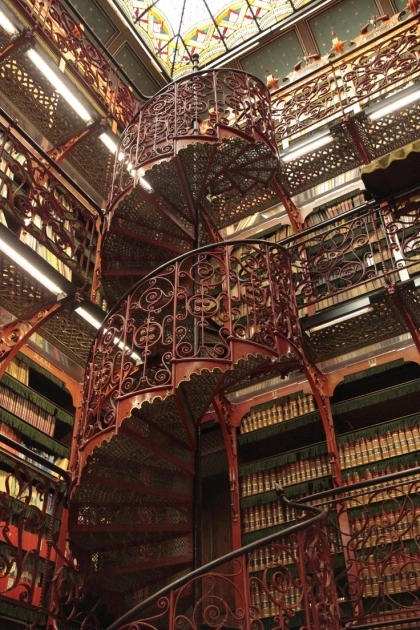 Victorian Spiral Staircase Architecture Library Steampunk Victorian Staircase Netherlands Image 36
