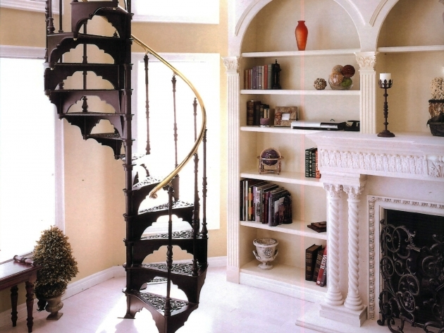 Victorian Spiral Staircase Image 24