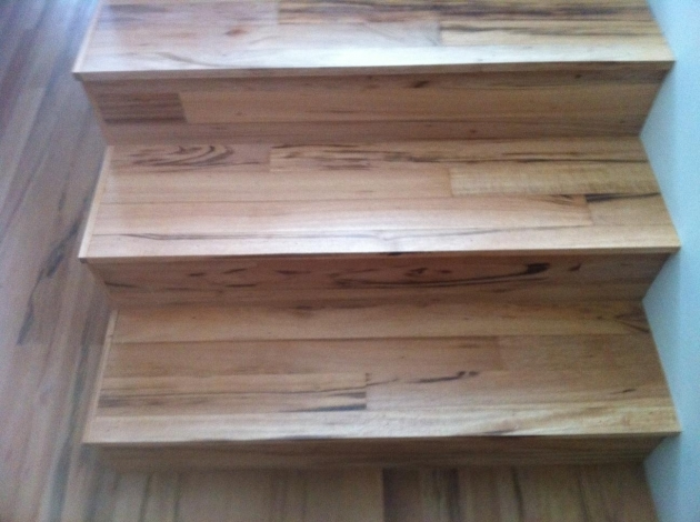 Wood Stair Treads With Tile Risers Compact Design Ideas Images 42