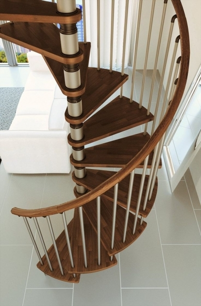 Wooden Spiral Staircase Kits Ideas Photos 98
