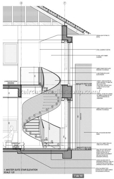 Wooden Spiral Staircase Plans Ideas Free Images 73