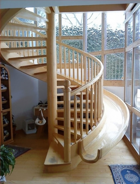 Wooden Staircase With Slide Creative Beautiful Staircase Design Image 50