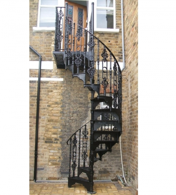Wrought Iron Victorian Spiral Staircase Photos 60
