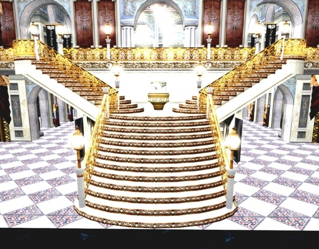 Best Double Grand Staircases Design Images 32