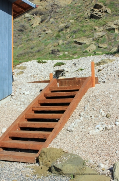 Building Stairs Into A Hill Build Wooden Steps Up A Hill Plans Image 12