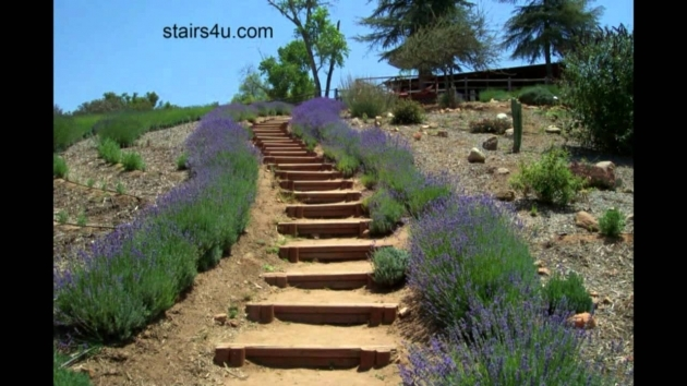 Building Stairs Into A Hill Idea For Long Hillside Stairways Landscaping And Design Pictures 07