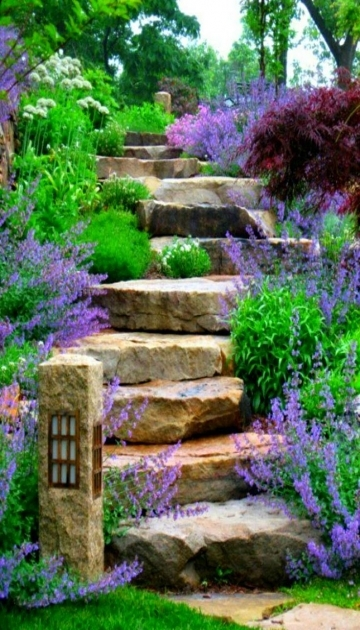 Building Stairs Into A Hill Ideas Landscape Steps Pictures 15