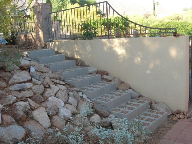 Building Stairs Into A Hill Steps Pictures 66