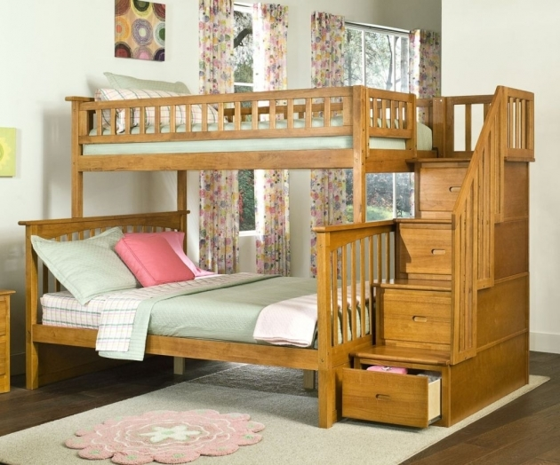 Bunk Beds Stairs Drawers Plans Image 33