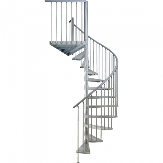Circular Staircase Exterior Kits Dolle Toronto Spiral Stairs Pic 81