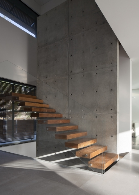 Floating Concrete Stairs Construction Ideas Staircases Photos 85