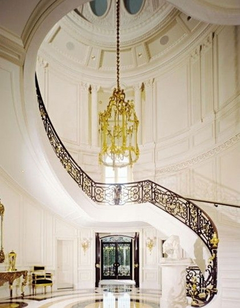 Grand Staircases Design Medellin Penthouse Ideas Picture 59