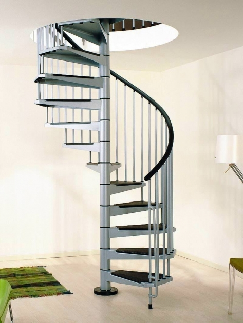 Metal Spiral Staircase Handrail Designing Ideas Images 44