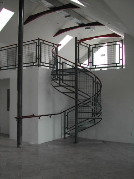 Metal Spiral Staircase Handrail Pictures 57