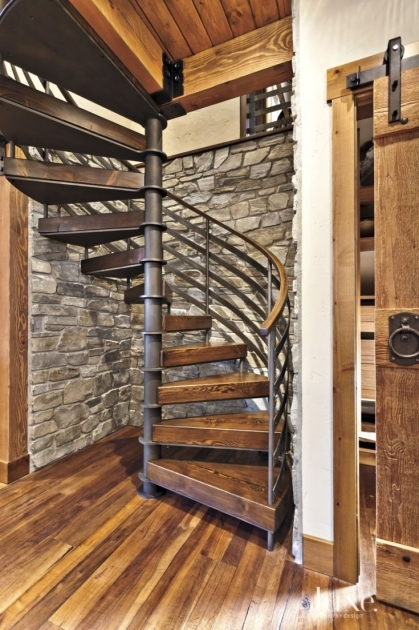 Metal Spiral Staircase Parts Interior Design Image 91