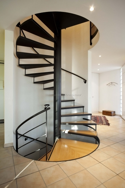 Metal Spiral Staircase Parts Prefab Ideas Design Picture 95