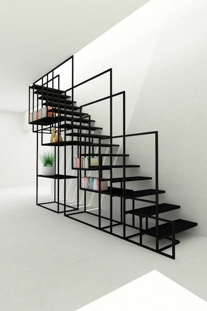Metal Staircase Design Geometric Ideas About Steel Stairs Picture 24