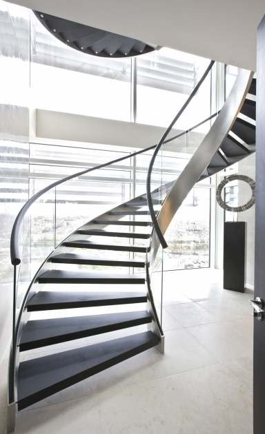 Metal Staircase Design Spiral Contemporary Ideas Pictures 21