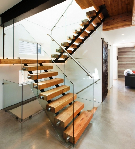 Modern Wooden Staircase Designs And Steel Images 07