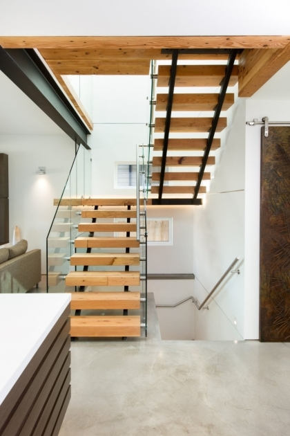 Modern Wooden Staircase Designs Images 35