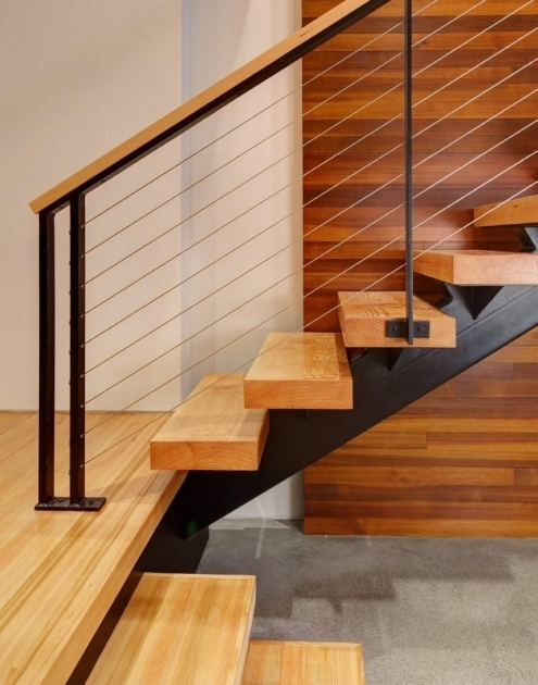 Modern Wooden Staircase Designs With Wood Floor And Wooden Wall Panel  Picture 72