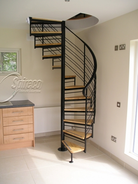 Round Stairs Design Attic Staircase Ideas Pic 42