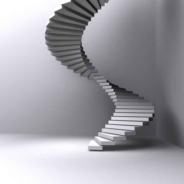 Round Stairs Design Contemporary Simple And Attractive Photos 12