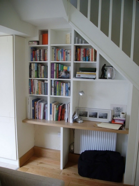 Shelves Under Stairs Ideas Images 63