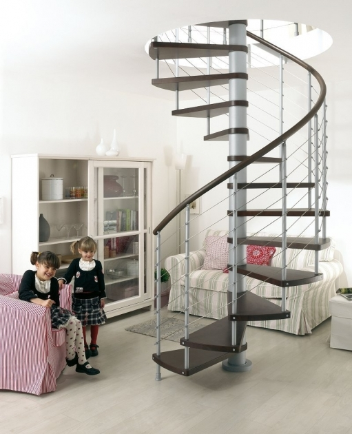 Small Spiral Staircase Modern Home Design And Decor Photos 92
