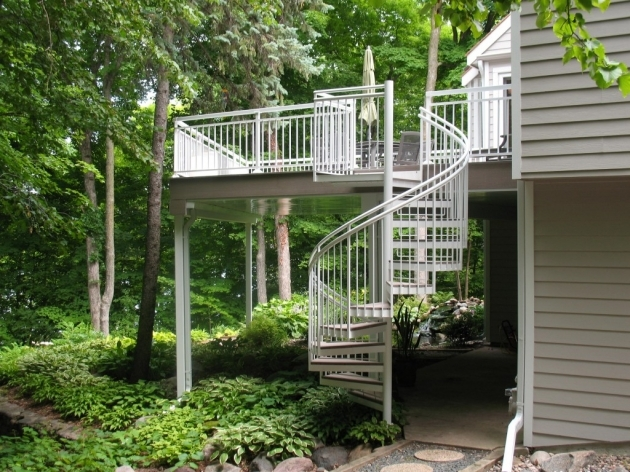 Spiral Staircases For Decks Deck Spiral Staircases Outdoor Spiral Staircases For Photos 02