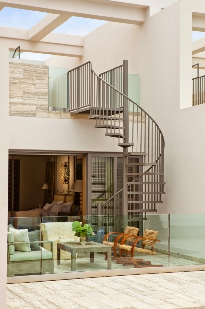 Spiral Staircases For Decks Grey Curved Stairs To Roof Ideas With Wall Ladder Designs Images 47
