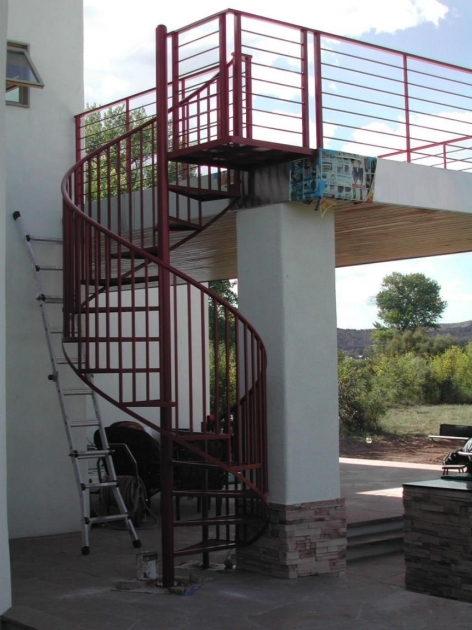 Spiral Staircases For Decks Spiral Stairs Photo 78