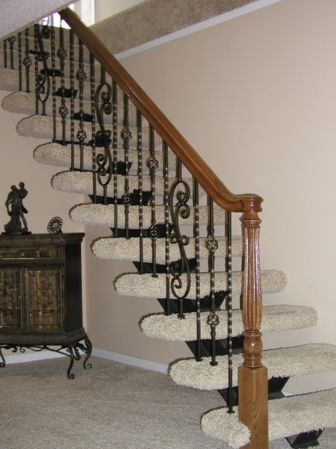 Stair Divine Staircase Railings Interior Stair Design Using Black Wrought Iron Picture 05